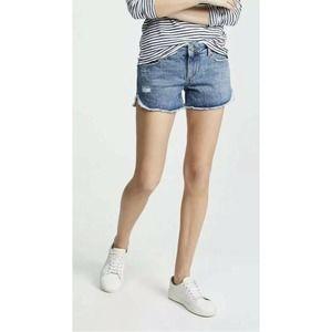 DL 1961 renee cutoff denim shorts size 26